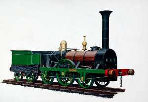Henry Maurice Whitcombe - 2–2–2 Locomotive 'Patente..