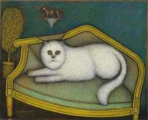 Morris Hirshfield - Angora Chat