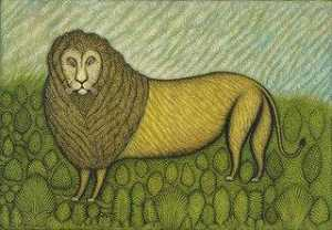 Morris Hirshfield - du Lion