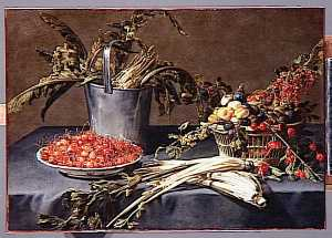 Adriaen Van Utrecht - NATURE MORTE FRUITS ET LE..